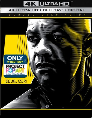 The Equalizer [SteelBook] [4K Ultra HD Blu-ray/Blu-ray] [Only @ Best Buy] [2014] 6250201