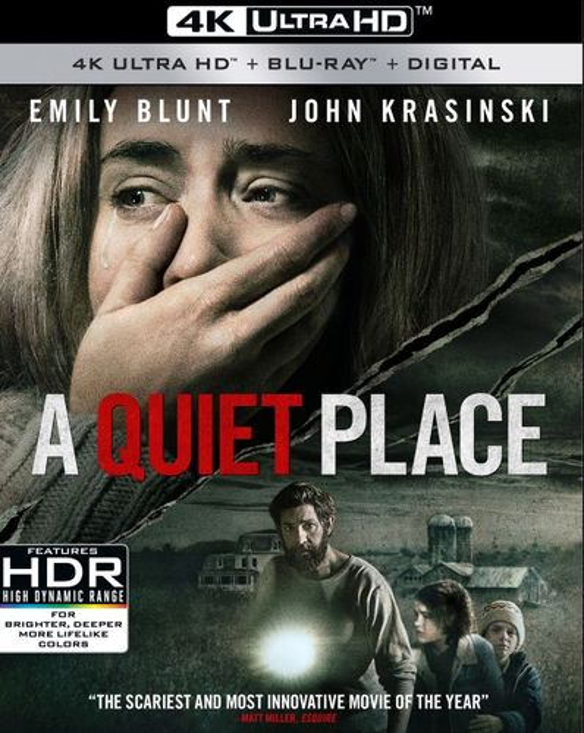 A Quiet Place [4K Ultra HD Blu-ray/Blu-ray] [2018] 6251656