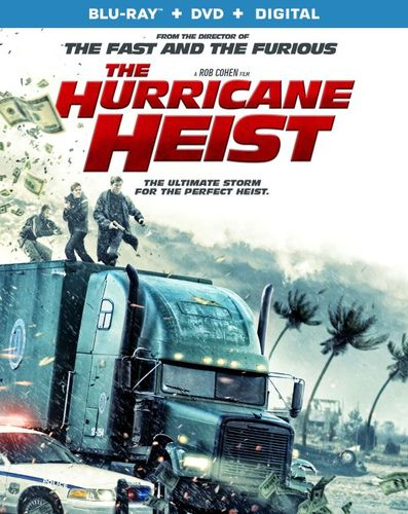 The Hurricane Heist [Blu-ray/DVD] [2018] 6251706