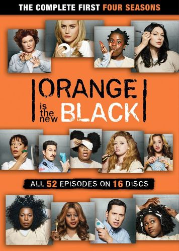 Orange Is the New Black: Seasons 1-4 [DVD] 6252665