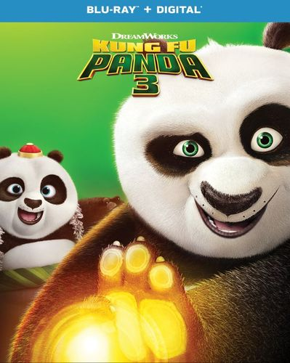 Kung Fu Panda 3 [Blu-ray] [2016] 6252756