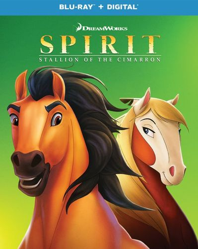 Spirit: Stallion of the Cimarron [Blu-ray] [2002] 6252764