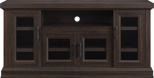"""Whalen Furniture - TV Cabinet for Most Flat-Panel TVs Up to 70"""" - Brown"""