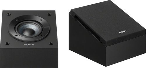 "Sony - 4"" Dolby Atmos Enabled Elevation Speakers (Pair) - Black"