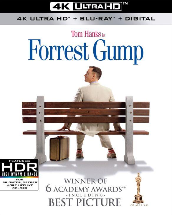 Forrest Gump [4K Ultra HD Blu-ray/Blu-ray] [1994] 6254191