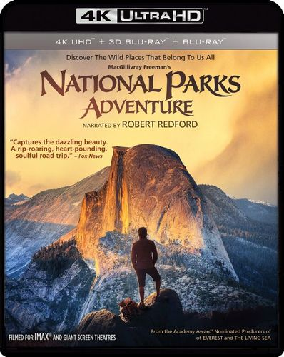 National Parks Adventure [3D] [4K Ultra HD Blu-ray/Blu-ray] [4K Ultra HD Blu-ray/Blu-ray/Blu-ray 3D] [2016] 6254888