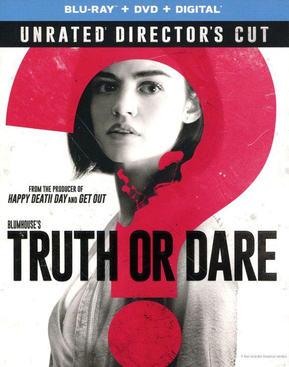 Blumhouse's Truth or Dare [Blu-ray/DVD] [2018] 6255046