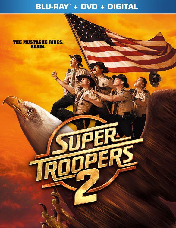 Super Troopers 2 [Blu-ray/DVD] [2018] 6255090