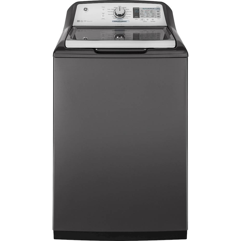 GE 4.9 Cu. Ft. 13-Cycle Top-Loading Washer Diamond Gray GTW755CPMDG