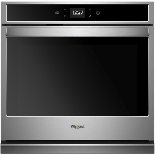 Whirlpool 30 in. Single Electric Wall Oven with Touchscreen in Stainless Steel