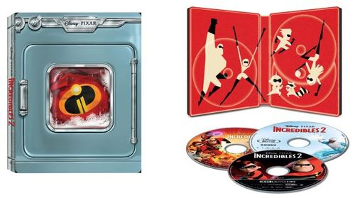 The Incredibles 2 [SteelBook] [4K Ultra HD Blu-ray/Blu-ray] [Only @ Best Buy] [2018] 6256039