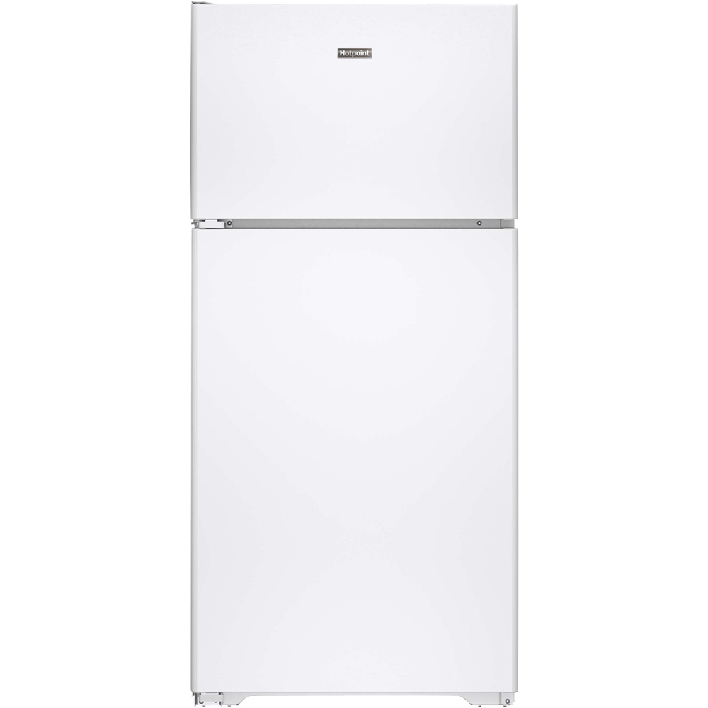 Hotpoint 14.6 Cu. Ft. Top-Freezer Refrigerator White HPS15BTHLWW