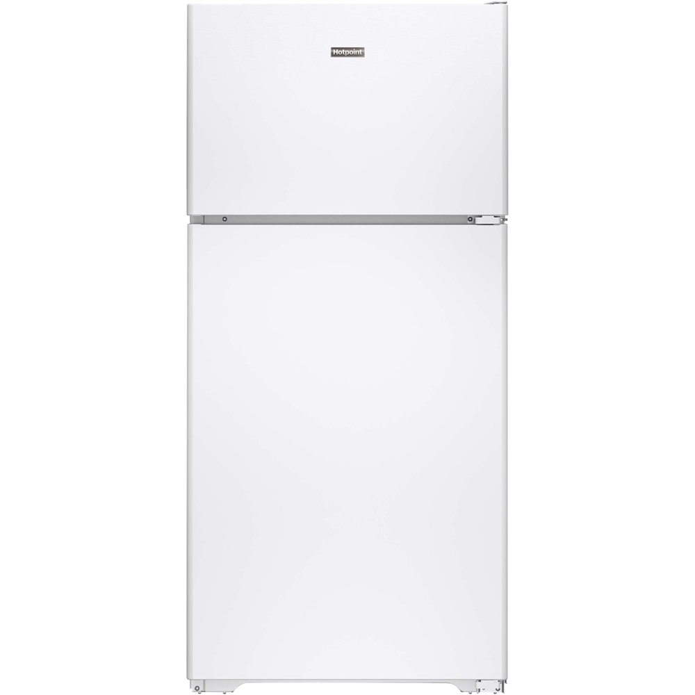 Hotpoint 14.6 Cu. Ft. Top-Freezer Refrigerator White HPE15BTHWW