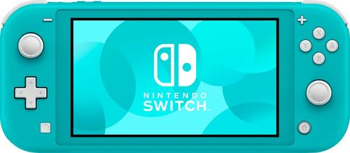 Nintendo - Switch Lite - Turquoise 5.5  touch-screen displayUnibody design with built-in +Control PadParental control support