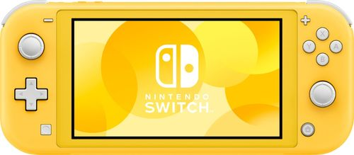 Nintendo - Switch Lite - Yellow 5.5  touch-screen displayUnibody design with built-in +Control PadParental control support