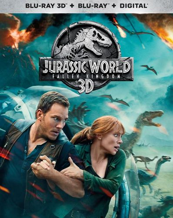 Jurassic World: Fallen Kingdom [3D] [Blu-ray] [Blu-ray/Blu-ray 3D] [2018] 6257208