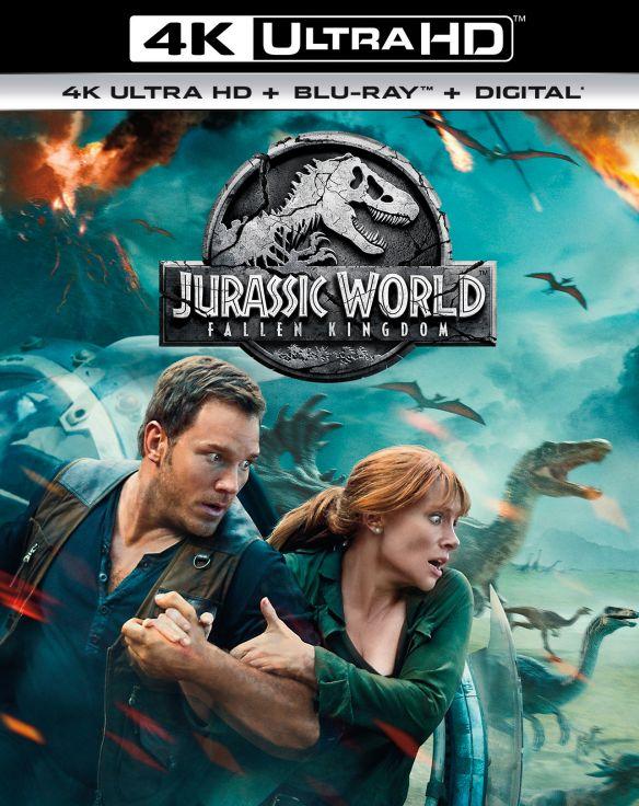 Jurassic World: Fallen Kingdom [4K Ultra HD Blu-ray/Blu-ray] [2018] 6257213