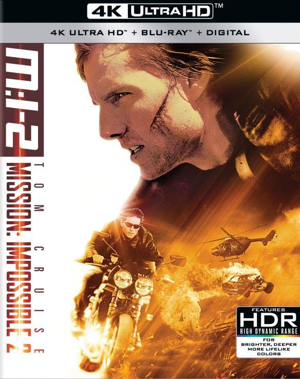 Mission: Impossible 2 [4K Ultra HD Blu-ray/Blu-ray] [2000] 6257216