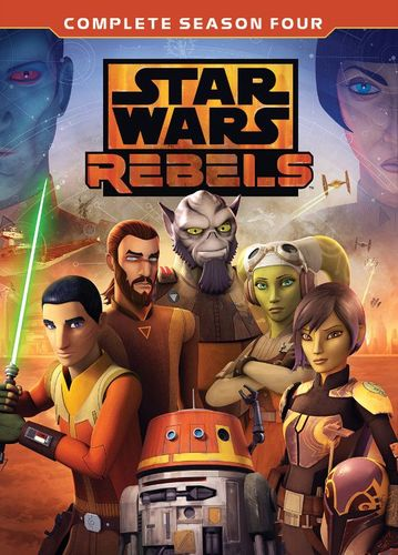 Star Wars Rebels: The Complete Fourth Season [DVD] 6257682