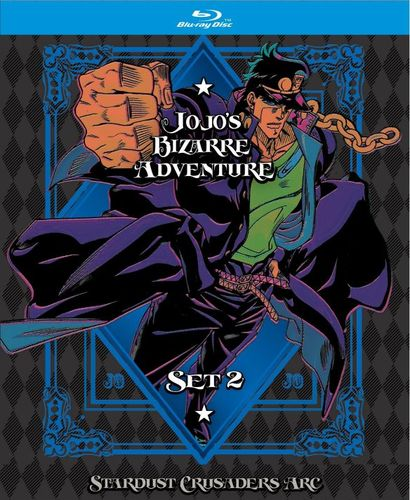 JoJo's Bizarre Adventure: Set 2 - Stardust Crusaders [Limited Edition] [Blu-ray] 6257693