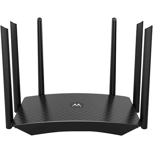 Motorola MR1700 Dual-Band WiFi Gigabit Router with Extended Range | AC1700 Speed