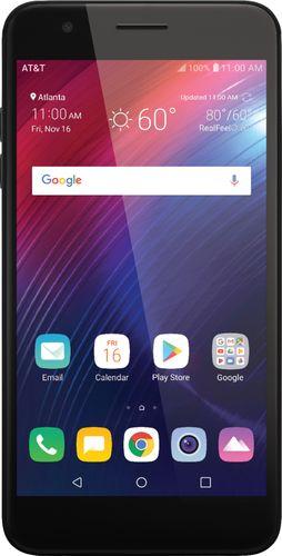 AT&T Prepaid LG Phoenix Plus (16GB) Smartphone - Black