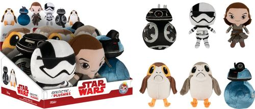 FUNKO PLUSHIES: STAR WARS EP8 - THE LAST JEDI - BLIND BOX