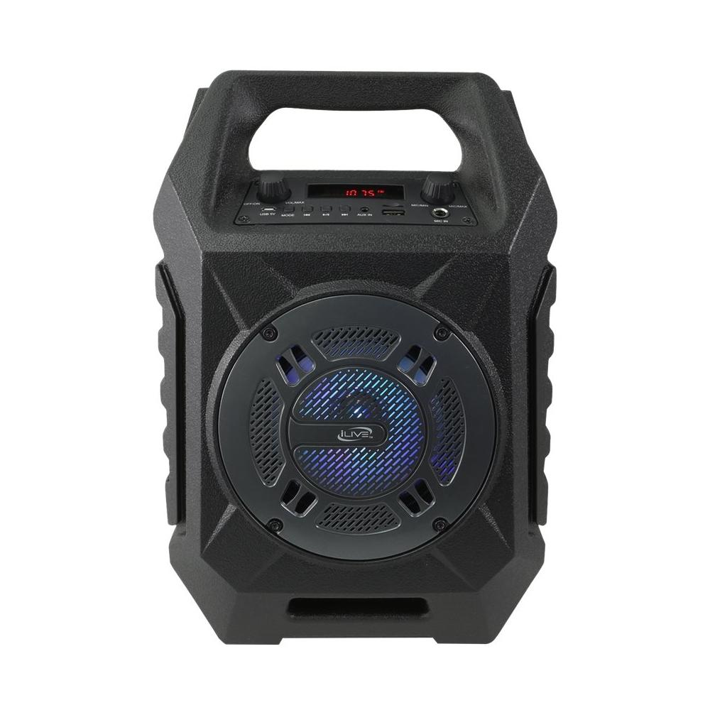 iLive Tailgate ISB408B Portable Bluetooth Speaker Black ISB408B