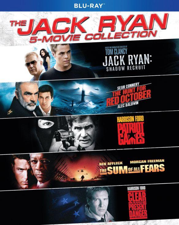 Jack Ryan: 5-Movie Collection [Blu-ray] 6260001