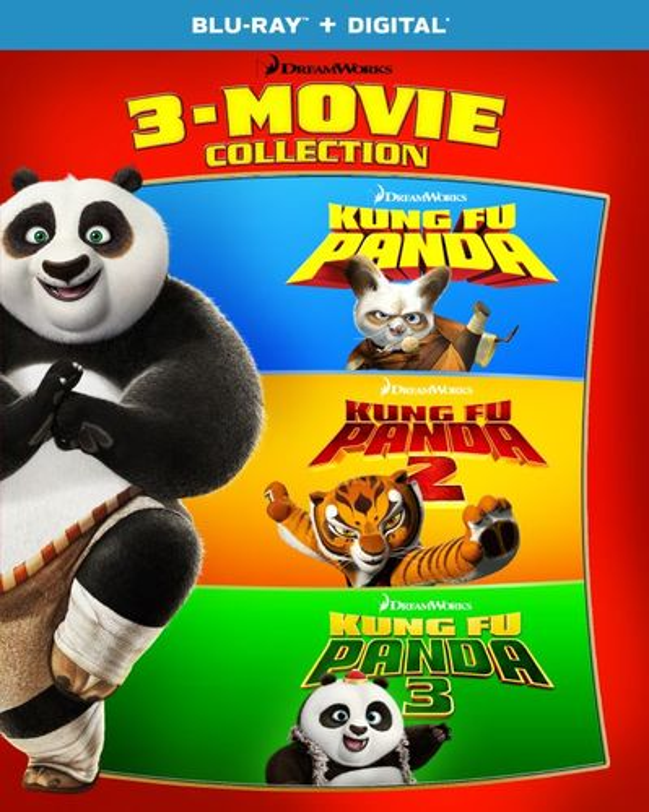 Kung Fu Panda: 3-Movie Collection [Blu-ray] 6260157