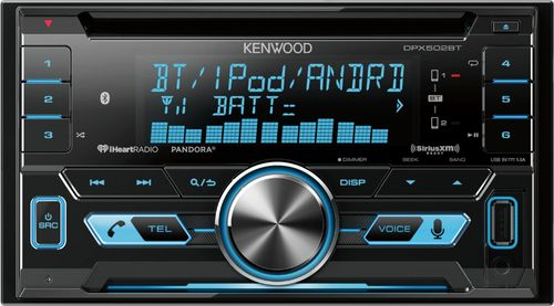 Kenwood - Geek Squad Certified Refurbished CD - Built-In Bluetooth - Apple iPod and Satellite Radio-Ready - In-Dash Deck - Black