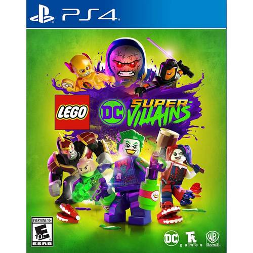 LEGO DC Supervillains, Warner Bros, PlayStation 4, 883929632992