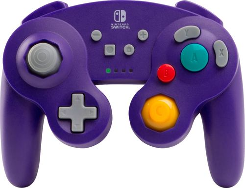 PowerA Wireless GameCube Controller for Nintendo Switch - Purple