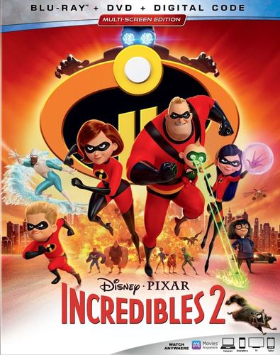 The Incredibles 2 [Includes Digital Copy] [Blu-ray/DVD] [2018] 6261070