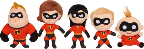ASST. The Incredibles Stylized Bean Plush