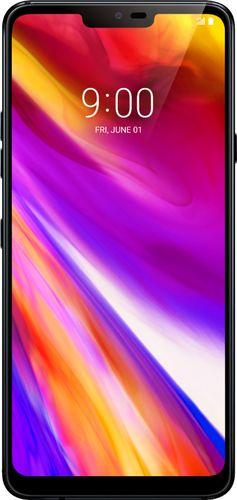 LG - G7 ThinQ LMG710ULM with 64GB Memory Cell Phone (Unlocked) - New Aurora Black