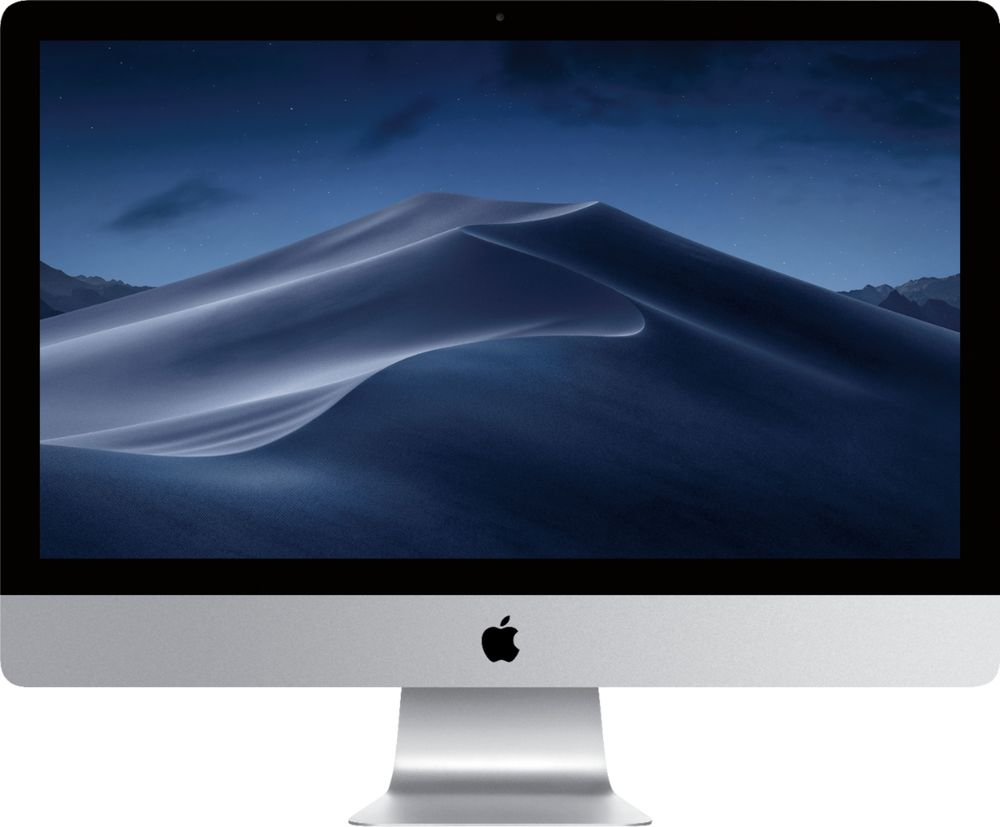 """Apple 27"""" iMac All-In-One Intel Core i7 32GB Memory 1TB Solid State Drive Silver Z0TR006UM"""