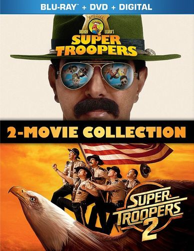 Super Troopers 2-Movie Collection [Blu-ray] 6263767