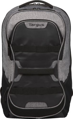 Targus Work + Play TSB94404US Carrying Case (Backpack) for 16u0022 Notebook - Black/Gray - Shoulder Strap, Handle