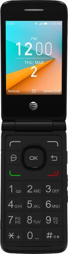 AT & T Prepaid - Cingular Flip 2 - Dark Gray