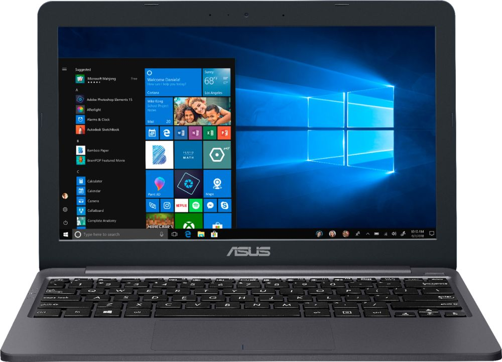 New Asus E203ma-tbcl232a 11.6'' Hd Laptop Celeron N4000 2gb 32gb Emmc Win10