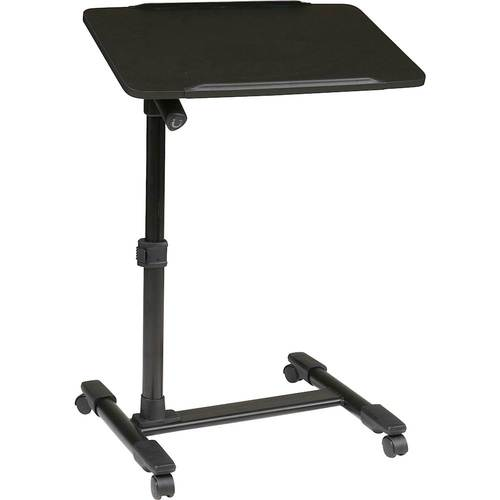 Lofton Laptop Cart Adjustable - Black