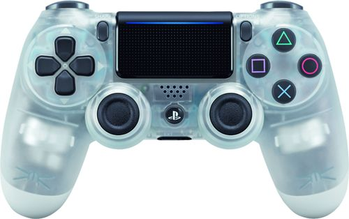 Sony - DualShock 4 Wireless Controller for Sony PlayStation 4 - Crystal