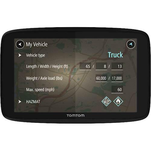 Tomtom TRUCKER 520 Automobile Portable GPS Navigator - Mountable, Portable