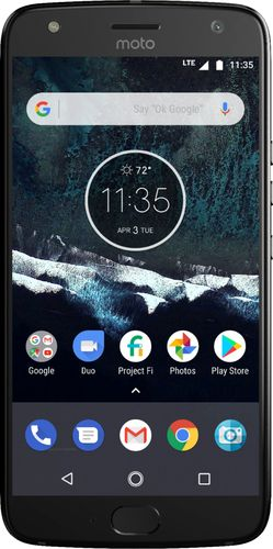Motorola - Moto X (4th Generation) with 64GB Memory Cell Phone (Unlocked) - Super Black