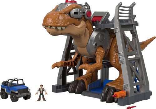 Imaginext - Jurassic World Jurassic Rex Figure - Brown