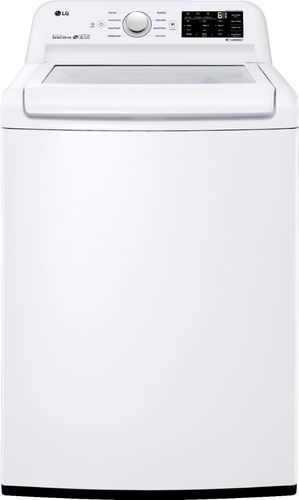LG Electronics 4.5 cu. ft. Mega Capacity Top Load Washer in White