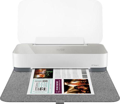 HP Tango X Smart Wireless Printer   Indigo Linen Cover   3DP65A#B1H
