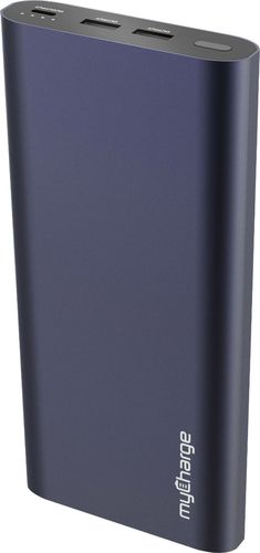 myCharge - RazorMega Xtreme Portable Charger for Most USB-Enabled Devices - Blue