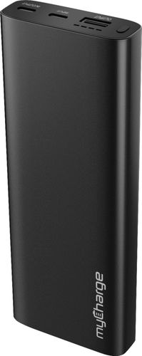 myCharge - RazorMega QC Portable Charger for Most USB-Enabled Devices - Black